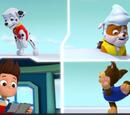 Pups and the Big Freeze/Trivia