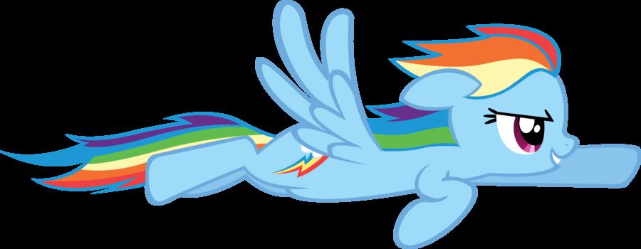 Image - Flying rainbow...