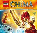 LEGO Legends of Chima: Album do wyklejania
