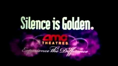AMC Theatres Silence is Golden