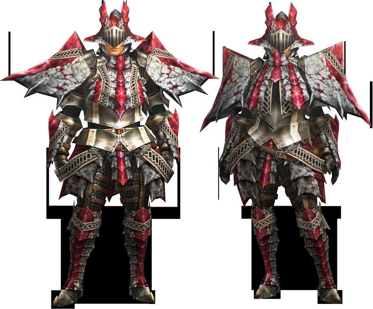 File Mh4u Ruby Basarios Armor Blademaster Render 001 Png