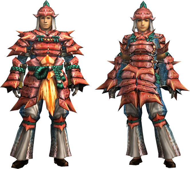 Empress Armor Mh4u Mh4u-kut-ku Armor