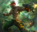 Junglestalker Saw Skin
