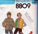 Simplicity 8809 A