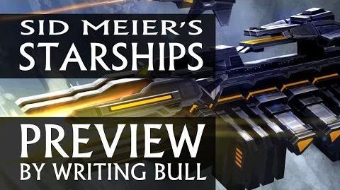 Writing Bull/Sid Meier's Starships: Previewvideo und Releasedaten