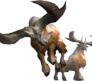 MH3U Monster Renders
