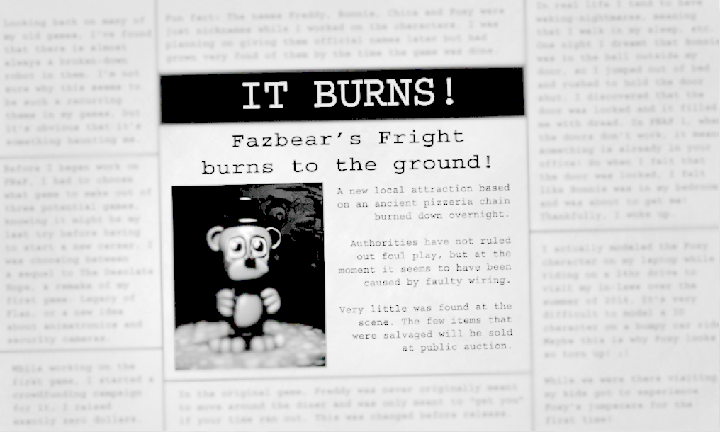 Image It Burns Brightened Png Five Nights At Freddy S Wiki