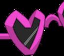 Lunettes-cœur