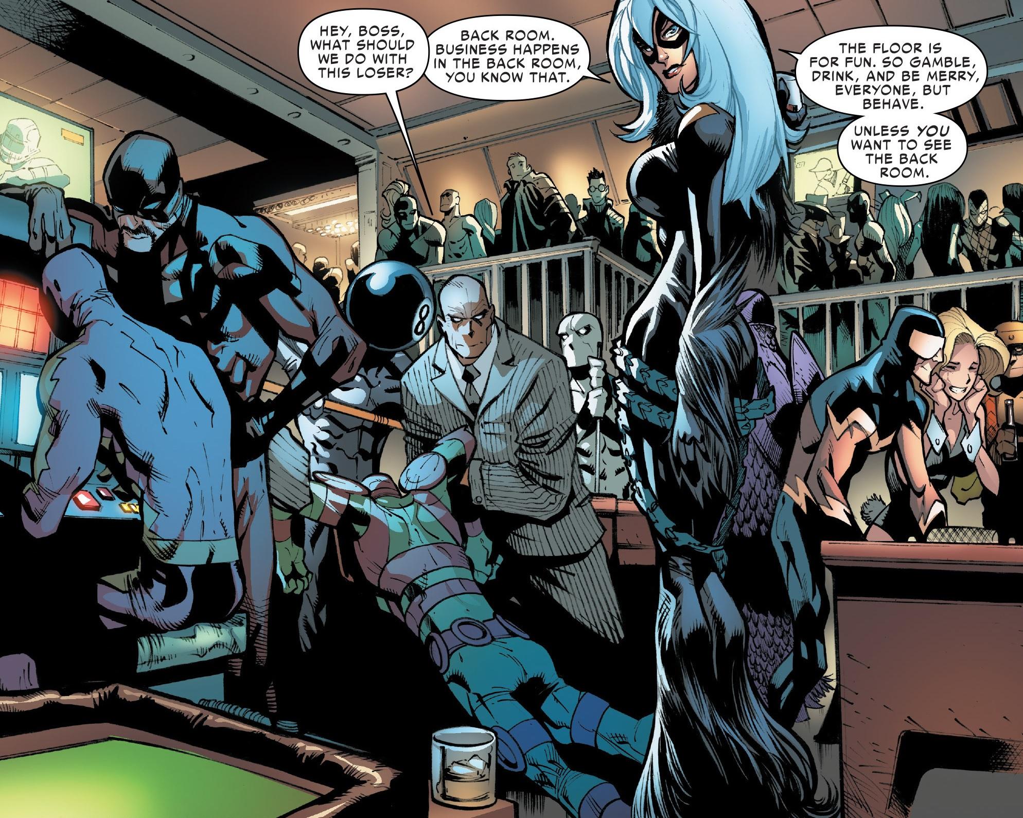 Black Cat amp 039s Gang Black Cat Spiderman 3