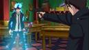 Yukio pointing a gun at Rin.png