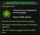 Upgrade Token