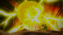 Laxus destroys the lightning core.png