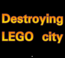 Destroying LEGO city