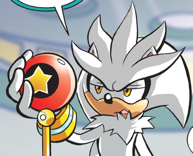 Silver The Hedgehog (Pre-Super Genesis Wave)