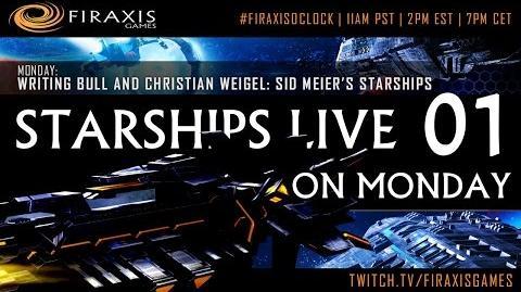 Writing Bull/Sid Meier's Starships: Fan-Livestreams bei FiraxisOClock