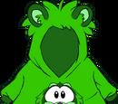 Cangurito de Mapache Verde
