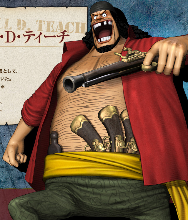 Marshall D Teach Pirate Warriors