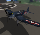 Vought F4U Corsair (EG Aircraft)