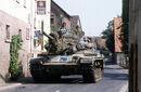 US Army M60 tank in German village.jpg