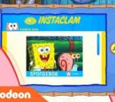 Patrick Star Checks His Instaclam