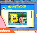Patrick Star Checks His Instaclam