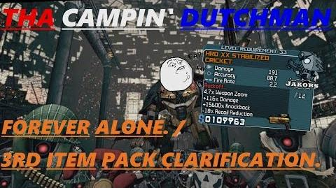 Borderlands Forever alone. 3rd Item Pack clarification. (Let's play 66)