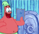 Patrick Star Checks His Instaclam (gallery)