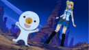 Plue is summoned by Lucy.png