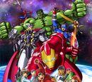 MARVEL COMICS: Marvel Disk Wars The Avengers (s1 ep9 Spider-Man is Missing)
