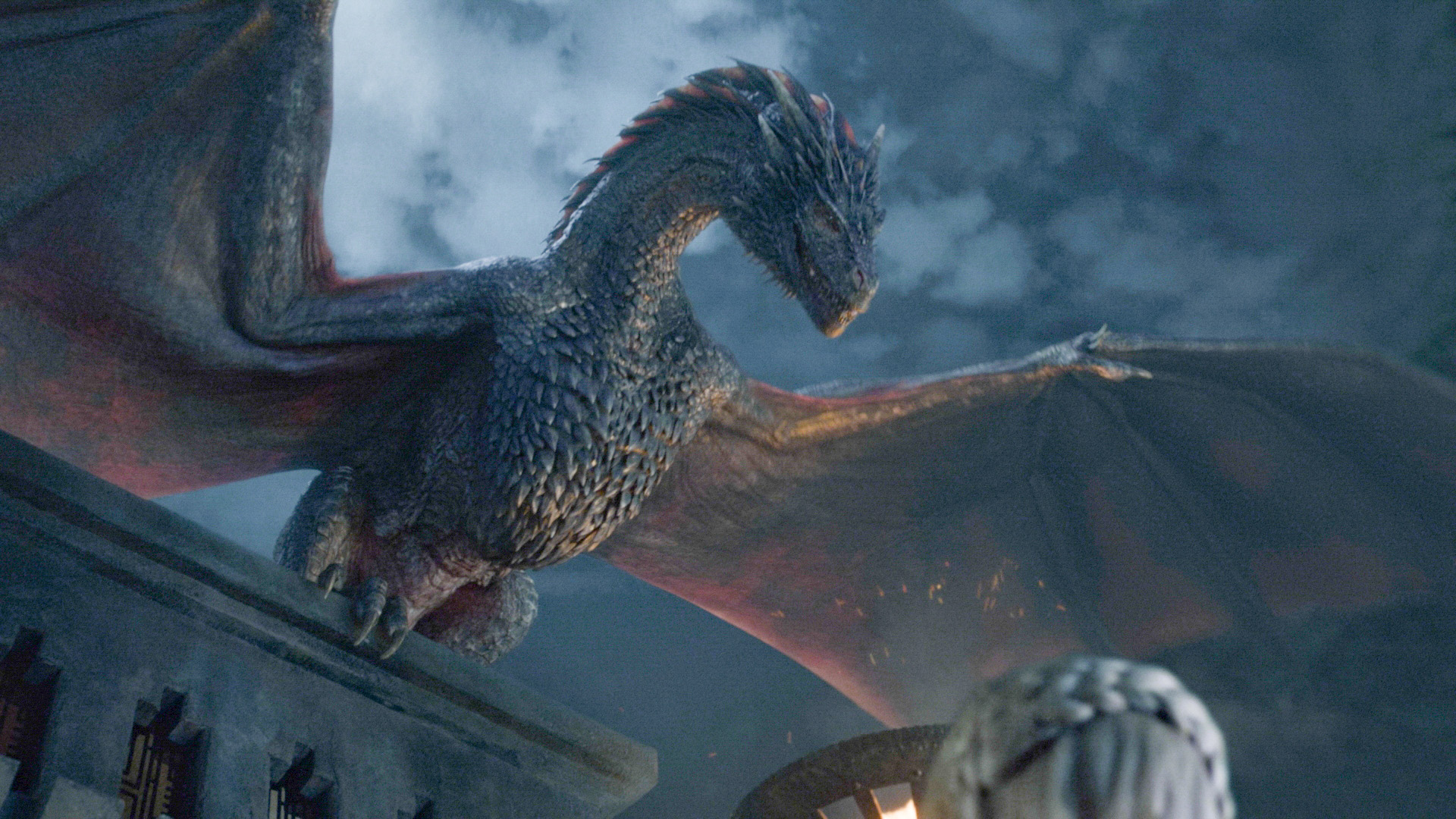 Drogon returns to his mother .