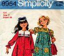 Simplicity 9954