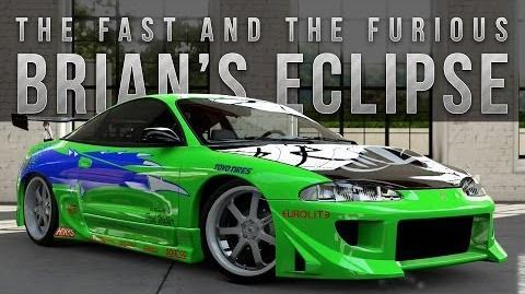Forza 5 Fast & Furious Car Build Brian's Eclipse