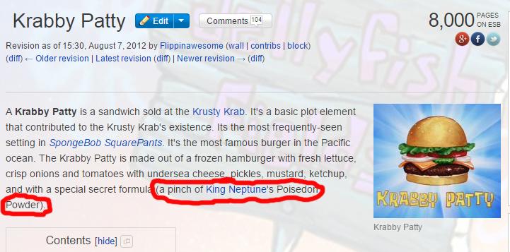 Real Krabby Patty Secret Formula User blog:Nicko...