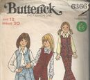 Butterick 6366 A