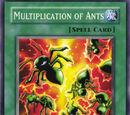 Multiplicación de Hormigas