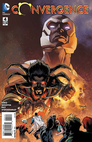 Cover for Convergence #4 (2015)