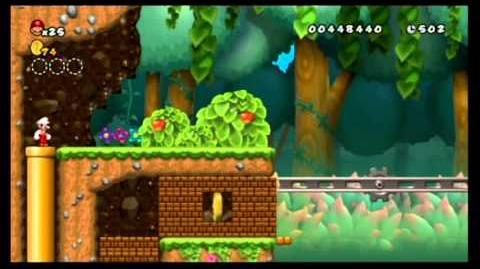 Newer Super Mario Bros. Wii 100% World 1 - Yoshi's Island
