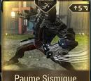 Paume Sismique