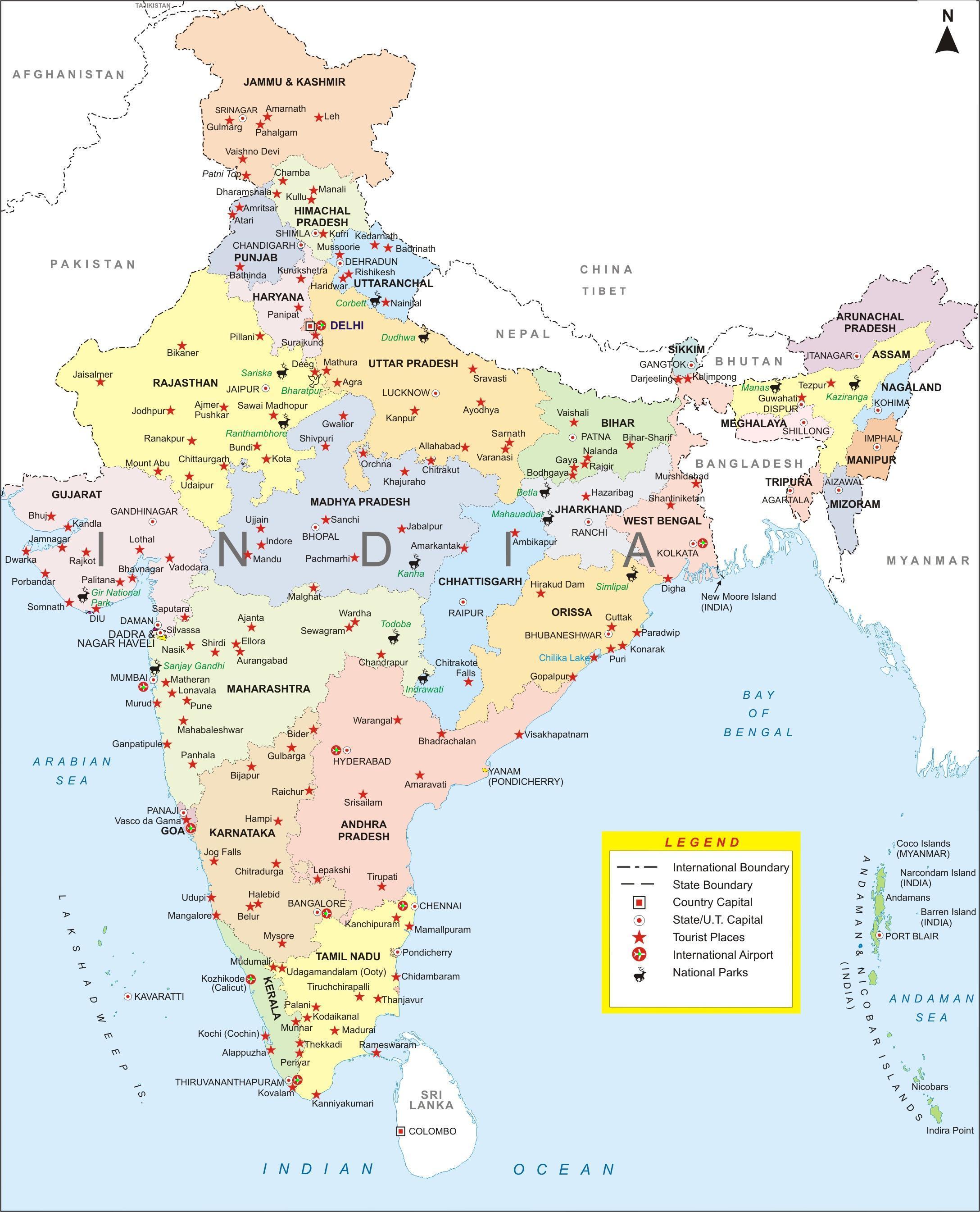 Navigation Maps India Image – India-city-map.jpg