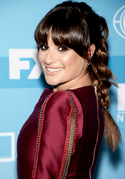 Lea Michele 2015 FOX Upfronts