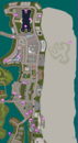 GTAVC HiddenPack 21-40 Vice Point & North Point Mall map.png