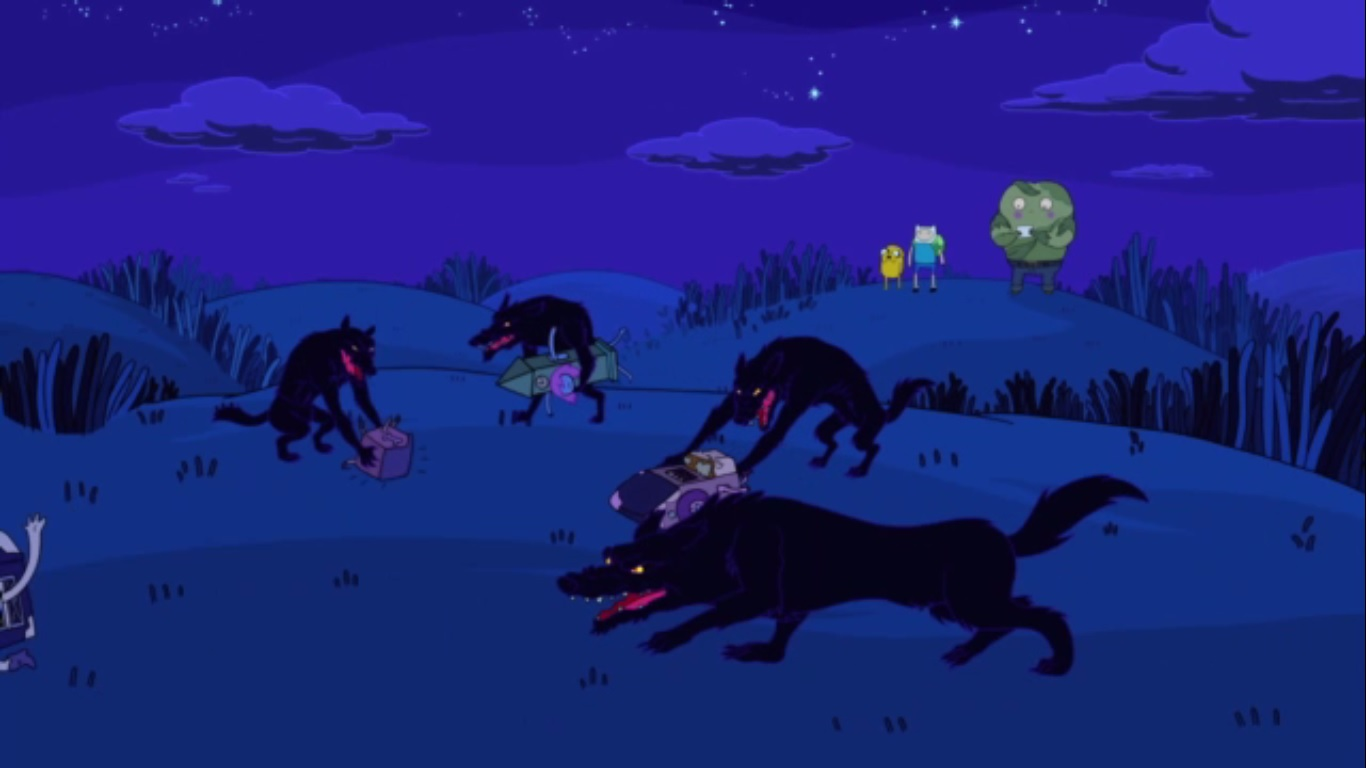 Image Why Wolves Running Wild Jpg The Adventure Time