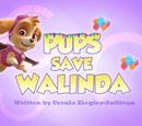 Pups Save Walinda's Pages