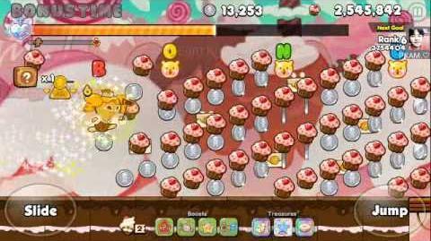 Cookie Run - FARMING COINS 62,127 COINS Cheesecake Cookie (LINE Ver)