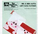 That Patchwork Place Mr. & Mrs. Santa Gift Sack