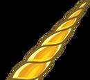 Cuerno de Unicornio de Oro