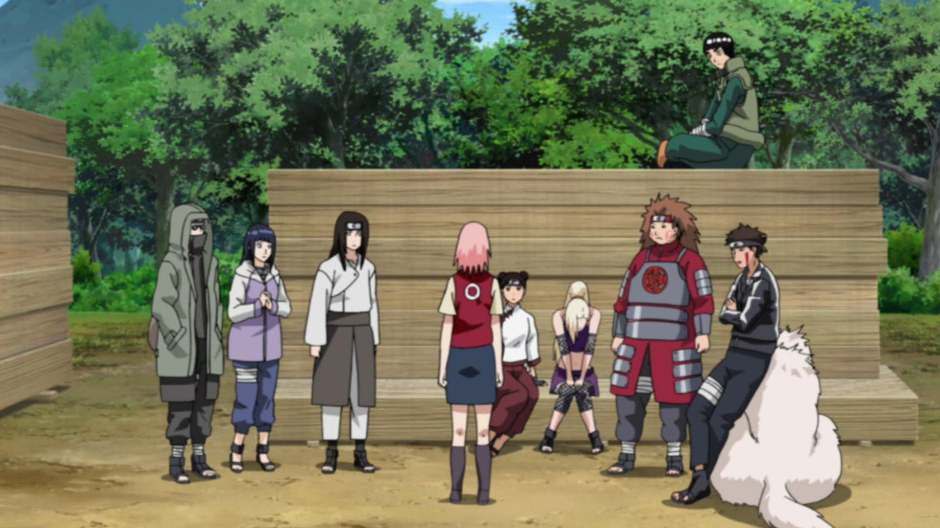 konoha 11 meet to discuss sasuke and itachi
