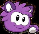 Puffle Gato Van Turco Violeta