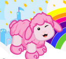 Cotton Candy Sheep