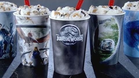 Jurassic World - Introducing the Dairy Queen Jurassic Smash Blizzard